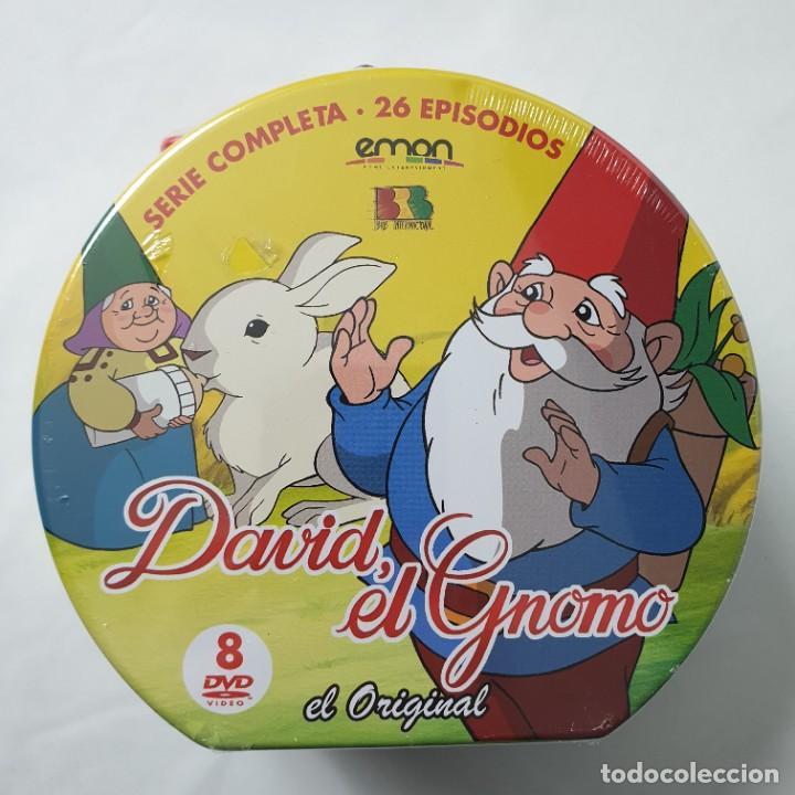 Series de TV: David el gnomo (1985) Serie TV Completa [8 DVDs] Edición Maleta Metálica NUEVO - Foto 2 - 237360625