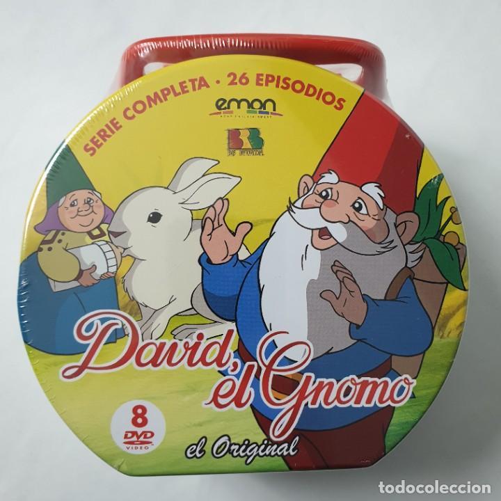 Series de TV: David el gnomo (1985) Serie TV Completa [8 DVDs] Edición Maleta Metálica NUEVO - Foto 3 - 237360625