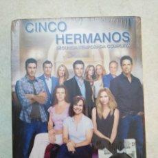 Series de TV: CINCO HERMANOS, SEGUNDA TEMPORADA COMPLETA ( 5 DVD NUEVOS A ESTRENAR ). Lote 237962515