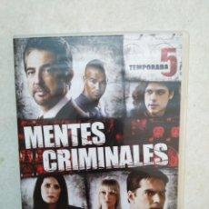 Series de TV: MENTES CRIMINALES TEMPORADA 5 COMPLETA ( 6 DVD ). Lote 238149640