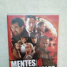 Series de TV: MENTES CRIMINALES TEMPORADA 6 COMPLETA ( 6 DVD ). Lote 238151005