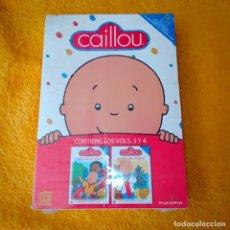 Series de TV: DVD CAILLOU 3 Y 4. Lote 238425585