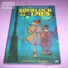 Series de TV: SHERLOCK HOLMES SERIE COMPLETA REMASTERIZADA DVD PACK NUEVO Y PRECINTADO. Lote 239937425