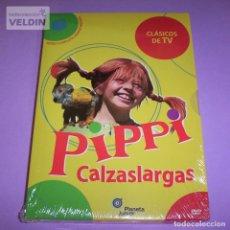 Series de TV: PIPPI CALZASLARGAS SERIE COMPLETA EN DVD PACK NUEVO Y PRECINTADO. Lote 239981455