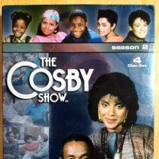 Series de TV: THE COSBY SHOW SEASON 2 4 DVD INGLES SEGUNDA TEMPORADA BILL 25 EPISODIOS + BONUS. Lote 239988650