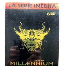 Series de TV: MILLENNIUM / LA SERIE INÉDITA / SERIE DE TV / STIEG LARSSON / 6 DVD /. Lote 240032845