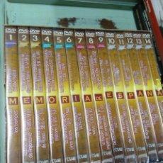 Series de TV: MEMORIA DE ESPAÑA. 14 DVD. NUEVA Y PRECINTADA. Lote 240055010