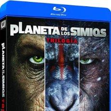 Séries TV: TRILOGÍA EL PLANETA DE LOS SIMIOS - (BLU-RAY). Lote 240268520