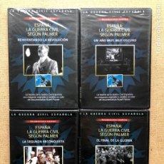 Series de TV: ESPAÑA LA GUERRA CIVIL SEGÚN PALMER / COMPLETA, 5 CAPÍTULOS EN 4 DVD / GUERRA CIVIL ESPAÑOLA / SLIM. Lote 289893298