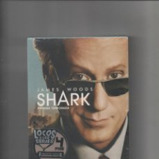 Series de TV: SHARK - JAMES WOODS - PRIMERA TEMPORADA COMPLETA.PRECINTADA SIN ESTRENAR.DVD. Lote 240834655