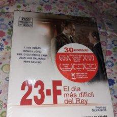 Series de TV: 2 DVD SERIE COMPLETA DOCUMENTALES 23 F (EL DÍA MÁS DIFICIL DEL REY) 30 ANIVERSARIO RTVE,ALDEA,DIVISA. Lote 240942320