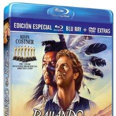 Séries TV: BAILANDO CON LOBOS (BLU-RAY + DVD) (DANCES WITH WOLVES). Lote 242088685