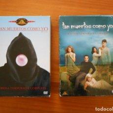 Series de TV: DVD TAN MUERTOS COMO YO - PRIMERA Y SEGUNDA TEMPORADA COMPLETAS - TEMPORADA 1 Y 2 (II). Lote 242148055