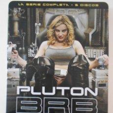 Séries de TV: PLUTON BRB NERO. LA SERIE COMPLETA DE ALEX DE LA IGLESIA EN DVD. 6 DISCOS. ESTUCHE METALICO.. Lote 242279250