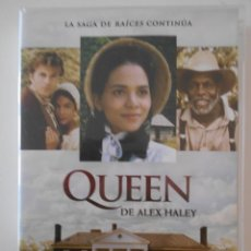Serie di TV: QUEEN. DE ALEX HALEY. LA SERIE EN DVD. 2 DISCOS. COLOR.. Lote 242279825