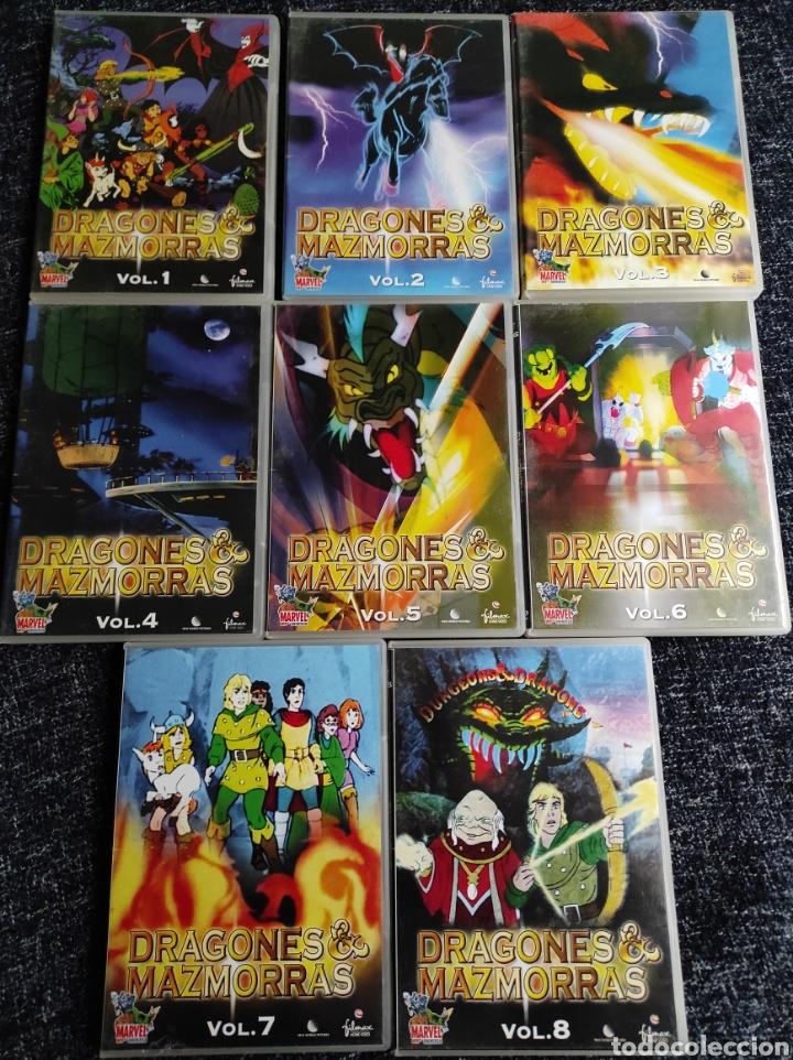 DRAGONES Y MAZMORRAS SERIE COMPLETA TEMPORADAS 1 Y 2 - 27 EPISODIOS - 8 DISCOS DVD (Series TV en DVD)