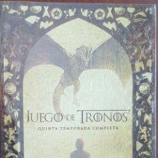 Series de TV: DVD / JUEGO DE TRONOS - QUINTA TEMPORADA COMPLETA / PRECINTADO SIN ABRIR. Lote 243960130
