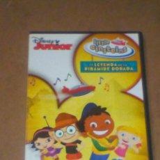 Series de TV: DVD DISNEY JUNIOR LITTLE EINSTEINS (LA LEYENDA DE LA PIRÁMIDE DORADA), VER OTRA FOTO.. Lote 244159930