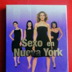 Series de TV: SEXO EN NUEVA YORK. PRIMERA TEMPORADA COMPLETA. 2 DVD. EL ENVIO ESTA INCLLUIDO.. Lote 244657640