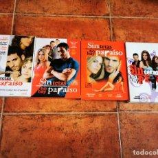Series de TV: SIN TETAS NO HAY PARAISO SERIE COMPLETA 3 TEMPORADAS 15 DVD POSTALES MIGUEL ANGEL SILVESTRE RARO. Lote 244888650