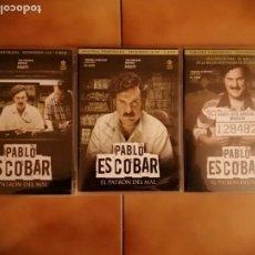 Series de TV: SERIE TV DVD PABLO ESCOBAR. EL PATRON DEL MAL. SERIE COMPLETA DE 74 EPISODIOS EN 15 DVD'S. Lote 244925320