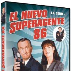 Serie di TV: EL NUEVO SUPERAGENTE 86 SERIE COMPLETA NUEVA Y PRECINTADA DESCATALOGADA. Lote 245176155