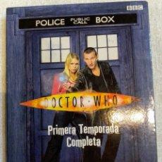 Series de TV: EL DOCTOR WHO , PRIMERA TEMPORADA COMPLETA , EDICIÓN LIMITADA. Lote 245355065