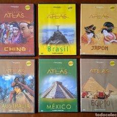 Series de TV: LOTE 6 DVD DISCOVERY ATLAS. 2008. VIAJES. MÉXICO, EGIPTO, JAPÓN, BRASIL, CHINA, AUSTRALIA.. Lote 245569600