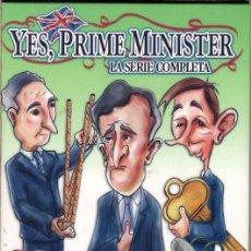 Series de TV: YES, PRIME MINISTER DVD ( LA SERIE COMPLETA) HUMOR INGLES CON IRONIA Y ..DESNUDANDO A LOS POLITICOS. Lote 245596205