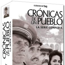 Serie di TV: CRONICAS DE UN PUEBLO - SERIE COMPLETA - 17 DVD´S. Lote 246527265