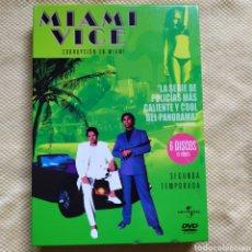 Series de TV: DVD SERIE MIAMI VICE 2 TEMPORADA 6 DVD. Lote 246683315