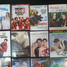 Series de TV: 41 DVD Y 3 JUEGOS PARA PLAY STATION2.. Lote 248601290