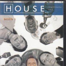 Series de TV: HOUSE M.D. TEMPORADA 1, DISCO 1.. Lote 248728180