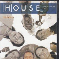 Series de TV: HOUSE M.D. TEMPORADA 1, DISCO 2.. Lote 248728230