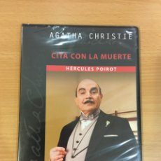 Séries TV: DVD SERIE AGATHA CHRISTIE - CITA CON LA MUERTE, CON HÉRCULES POIROT. PRECINTADO. Lote 251464820