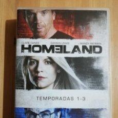Series de TV: HOMELAND. TEMPORADAS 1, 2 Y 3 (DVD) CLAIRE DANES / DAMIAN LEWIS / MANDY PATINKIN. Lote 251745645