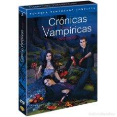 Series de TV: TERCERA TEMPORADA CRONICAS VAMPIRICAS EN DVD. Lote 252852930