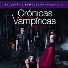 Series de TV: QUINTA TEMPORADA CRONICAS VAMPIRICAS EN DVD. Lote 252853355