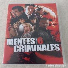Series de TV: DVD MENTES CRIMINALES - TEMPORADA 6 ¡USADO!. Lote 253813225