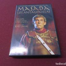 Séries TV: MASADA LOS ANTAGONISTAS DVD PETER O'TOOLE PETER STRAUSS BORIS SAGAL SERIE. Lote 254049790