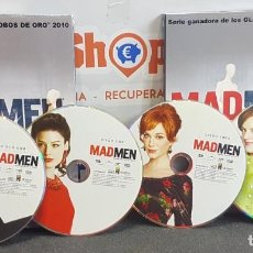 Series de TV: MAD MEN - TEMPORADA 5 (4 DISCOS). Lote 254233415