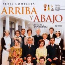 Serie di TV: PACK ARRIBA Y ABAJO - SERIE COMPLETA (UPSTAIRS & DOWNSTAIRS). Lote 254249290