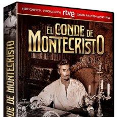 Séries de TV: EL CONDE DE MONTECRISTO. Lote 254249990