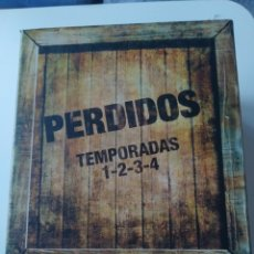 Series de TV: PACK 4 TEMPORADAS SERIE DE TV PERDIDOS ( LOST). EN CAJA. EN DVD.. Lote 254259840