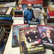 Series de TV: COMISARIO MONTALBANO . BASADAS NOVELAS ANDREA CAMILLERI. SERIE COMPLETA. 18 DVD + ESTUCHE. Lote 254641790
