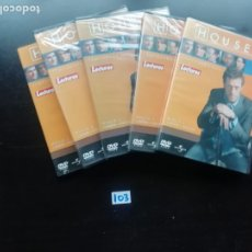 Series de TV: DOCTOR HOUSE - TEMPORADA 2 - DISCO 1,2,3,4 Y 5. Lote 257680965