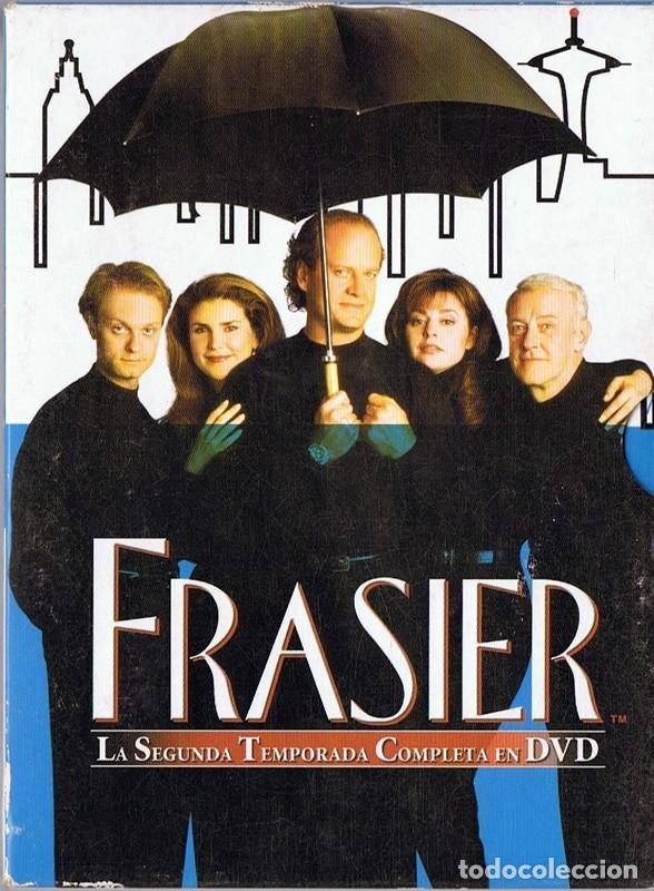 FRASIER LA SEGUNDA TEMPORADA COMPLETA (4 DVD) (Series TV en DVD)