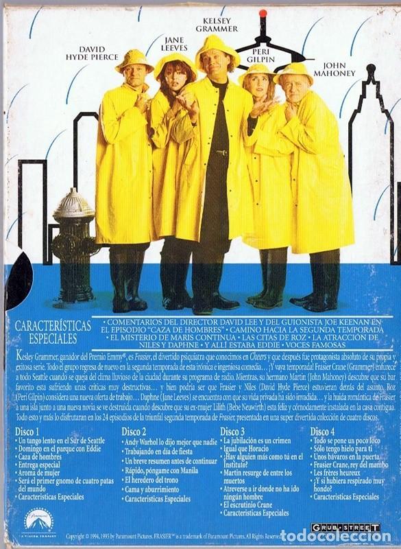 Series de TV: FRASIER LA SEGUNDA TEMPORADA COMPLETA (4 DVD) - Foto 2 - 257726240
