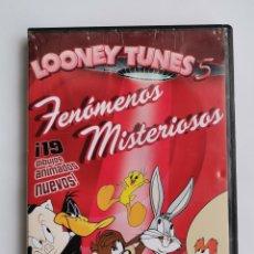 Series de TV: LOONEY TUNES 5 FENÓMENOS MISTERIOSOS DVD. Lote 257730640