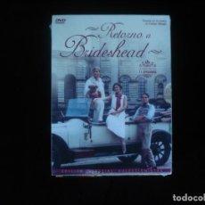 Séries de TV: RETORNO A BRIDESHEAD - LA SERIE COMPLETA 11 EPISODIOS EDICION ESPECIAL - NUEVA PRECINTADA. Lote 260283440